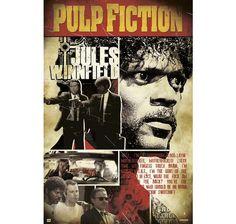 Pulp Fiction Poster Jules