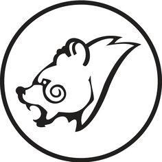 Celtic Bear Head Design