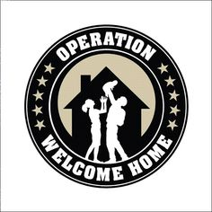 """Operation Welcome Homes Logo! Awesome program in the Morgantown, WV area, you can visit facebook.com/welcomehomewv or Twitter @welcomhomewv to """"like"""" and follow us! This is a great initiative """"For Veterans, by Veterans!"""""""