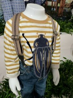 Great flap a bug T-shirt for boys at Monsoon kidswear spring 2014 preview