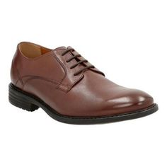 Men's Clarks Garvan Plain Toe Shoe