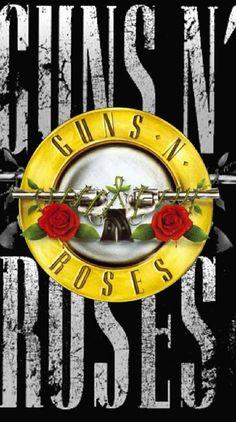 Guns N Roses Iphone Wallpaper, Rose Wallpaper, Rock Band Posters, Rock Band Logos, Guns And Roses, Pink Floyd, The Beatles, Heavy Metal Rock, Garden Decor Items