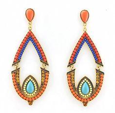 Statement Ohrringe MICHELLE von TRENDOMLY JOLIEBijouterie Earrings Jewelry Trend 2014