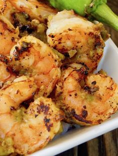 This Hatch Green Chile Shrimp is served with Coconut Rice -- it's rich and hearty, sweet and spicy, and so over-the-top delicious that you will keep coming back for more and more. #hatch #hatchchile #shrimp #coconut Best Shrimp Recipes, Lobster Recipes, Shellfish Recipes, Seafood Recipes, Mexican Food Recipes, Cooking Recipes, Shrimp Dishes, Coconut Rice, Sweet And Spicy