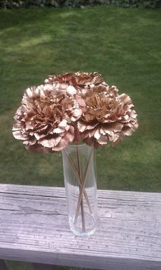 spray paint fake flowers instead of real ones. I bet your mom can find you a ton of cheap old fake flowers for us to paint Fake Flower Centerpieces, Fake Flowers Decor, Paper Flowers Diy, Real Flowers, Artificial Flowers, Flower Decorations, Flower Diy, Flower Ideas, Diy Paper