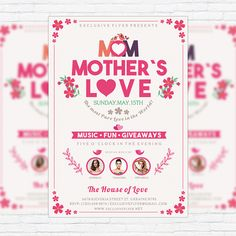 Mothers Day  Premium Flyer Template  Facebook Cover HttpWww