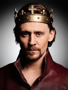 Tom Hiddleston as Prince Hal in the Hollow Crown mini series