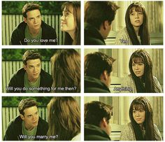 A Walk To Remember <3 I freakin love this movie