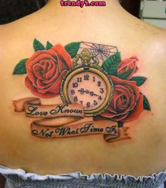 sexy Rose Tattoo Designs 2014