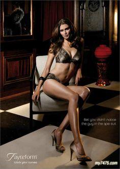 2010 Lingerie Advertisement