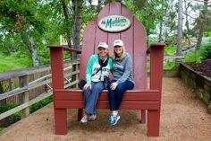 Kim Hull & Caitlin Rick, Madden's on Gull Lake, Brainerd, Minnesota