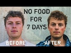 In this post, I explain Lou's entire 7 Day Water Fast experience from the origin of his health problems to … Loose Weight, Body Weight, Weight Loss, Weight Gain, Water Fast Results, Before And After Diet, Plant Based Vegan Diet, Healthy Balanced Diet