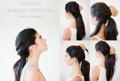 DIY: rozstrapatený vrstvený vrkoč - KAMzaKRÁSOU.sk  #kamzakrasou #krasa #tutorial #beauty #diy #health #hair #hairstyle #uces