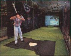 Indoor baseball drills