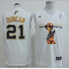 ed6611586ab Spurs  21 Tim Duncan White 2014 NBA Finals Champions Stitched NBA Jersey