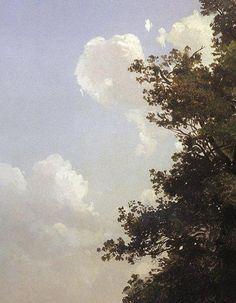 Aleksey Savrasov, detalle de Robles, 1855, Museo Ruso. http://www.yekibud.es/2013/09/15/el-estudiante/