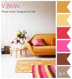 Vibrant - Color Palette  http://inspiresweetness.blogspot.com