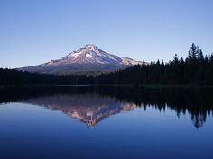Mt. Hood, Oregon. I've been told I must go there when I go to Portland in July 2012.