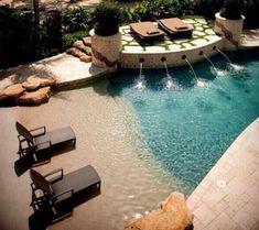 beach themed pool - Google Search