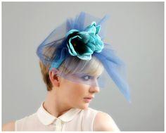 Peacock #alotlikeamy #hairaccessories #handmade #headband