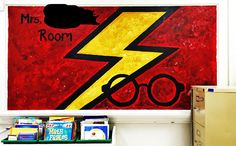 Move over, Dumbledore. Hogwarts' beloved headmaster and his wand-waving colleagues have been one-upped by an Oklahoma City schoolteacher who's turned her classroom into a Harry Potter-inspired wonderland.  Stephanie Stephens, a special education teacher at James L. Capps Middle School, is fast becoming a muggle hero after her husband posted photos of her handiwork on Reddit.