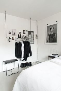 45 Minimalistic Bedrooms You Can Use As Inspiration Minimalist Bedroom Bedrooms Inspiration minimalistic Interior Design Blogs, Interior Design Minimalist, Minimalist Bedroom, Interior Logo, Minimalist Apartment, Cafe Interior, Interior Styling, First Apartment Essentials, Bedroom Furniture