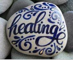 Healing rock