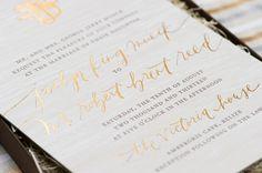 Best of 2014: Wedding Invitations, Part 1: http://ohsobeautifulpaper.com/2014/12/best-2014-wedding-invitations-part-1/ | Design: Papellerie