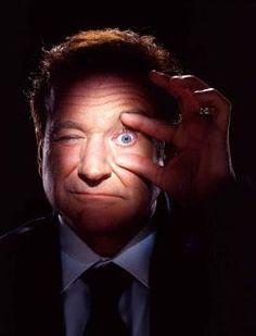 Robin Williams by Annie Leibovitz, April 2012