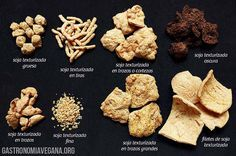 Tipos de soja texturizada La soja texturizada es un ingrediente muy común en la cocina vegetariana y vegana, un producto con un aspecto que nos puede resultar extraño al principio, …
