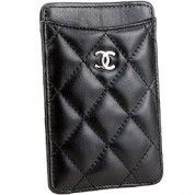 Chanel Quilted Iphone Case Black  $114