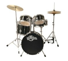 World Tour Jr Complete 5 Piece Drumset with Drum Throne and Drum Sticks - Gloss Black by World Tour. $238.54. Introducing a new Junior Drum Set that is perfect for the mini drummer in the family!  This durable starter set will hold up to your child's playing.   This complete junior drum set also includes cymbals, hardware, and a pair of drum sticks.  Color: Black