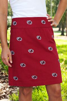 USC Garnet Skirts  $105.00
