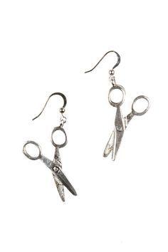 598fd964b Scissor Earrings Cute Earrings, Silver Earrings, Silver Jewelry, Drop  Earrings, Diamond Are