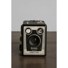 Vintage Six-20 Brownie Model D Camera ($89) ❤ liked on Polyvore