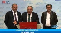 PROF.DR. HALUK KOÇ BASIN TOPLANTISI 30/03/2014