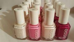 20 ESSIE Wholesale Nail Polish PINK NUDES baby bridal shower party favor ~ LOT B #Essie