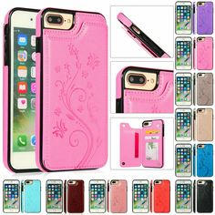 For iPhone 11 Pro/Max X XR X 8 7 Magnetic Leather Wallet Phone Case Cover - Blue Iphone 8 Case - Ideas of Blue Iphone 8 Case. - For iPhone 11 Pro/Max X XR X 8 7 Magnetic Leather Wallet Phone Case Cover Rosegold Iphone Case Ideas of Rosegold Iphone Case Cheap Iphone 7 Cases, Iphone Hard Case, Iphone 6 Plus Case, Iphone Phone Cases, Iphone Case Covers, Iphone 11, Phone Cover, Pink Phone Cases, Glitter Phone Cases