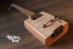 Richey Kay 4 string Cigar Box Guitar by RicheyKayGuitars on Etsy