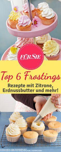 Wir zeigen Euch die sechs besten Rezepte für Cupcake-Frostings: http://www.fuersie.de/kochen/backrezepte/artikel/top-6-frosting-rezepte
