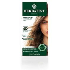 Herbatint Permanent Herbal Haircolor Gel, Dark Golden Blonde 6D, 4.56 Ounce ** You can find more details by visiting the image link. (This is an affiliate link and I receive a commission for the sales)