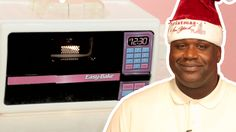 Shaquille O'Neal Goes On Christmas Cooking Spree With An Easy Bake Oven (VIDEO)