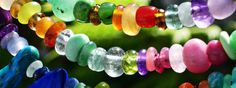 Natural gemstone bead necklaces