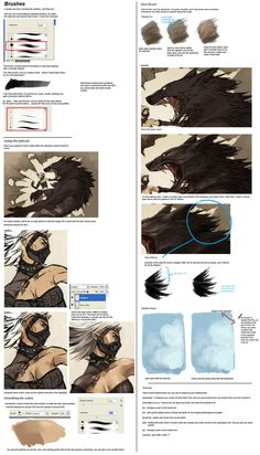 tutorial on digital painting ✤ || CHARACTER DESIGN REFERENCES | キャラクターデザイン | çizgi film • Find more at https://www.facebook.com/CharacterDesignReferences & http://www.pinterest.com/characterdesigh if you're looking for: #color #theory #contrast #animation #how #to #draw #paint #drawing #tutorial #lesson #balance #sketch #colors #digital #painting #process #line #art #tips || ✤