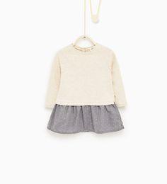 Imagem 1 de Vestido combinado da Zara