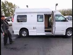 2012 Pleasure-Way Basis 4.8 Class B Camper Van • Guaranty.com - YouTube