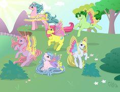 Windy Wing Ponies by kuro-rakuen on DeviantArt