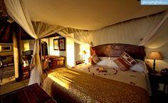 Romantic safari getaway near Victoria Falls, Zambia