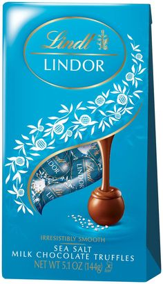 Lindt Lindor Sea Salt Chocolate Truffles... but for real...   :-)