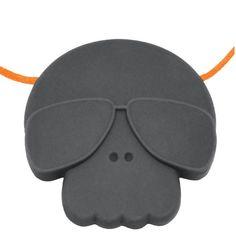 JS Junior Skull Pendant - STORMY GREY